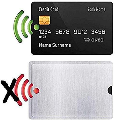 ZFXNB Bloqueador RFID Waizmann.Ideas, Funda De Bloqueo, Blindaje para Pasaporte, Dni Y Tarjetas De Crédito.