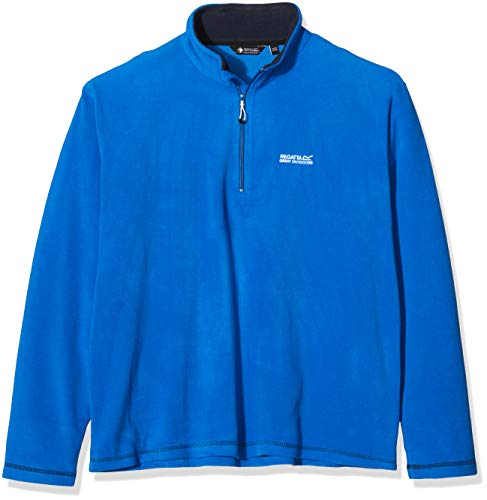 Regatta Herren Thompson Fleece Jacke–Oxford Blau/Navy, X-Large