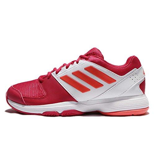 adidas Barricade Court W, Zapatillas de Tenis para Mujer, (Rosene/Ftwbla/Corsen), 38 EU