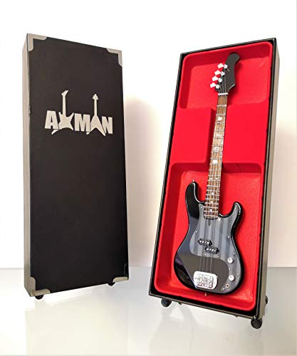 Geezer Butler (Black Sabbath) Lakland Signature Bass, Miniatur-Gitarren-Nachbildung