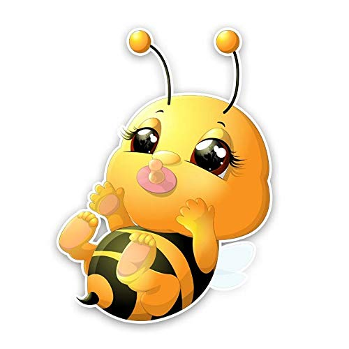 XCWQ Autosticker 12,2 cm* 17 cm Honing Bee Baby Pvc Sticker A