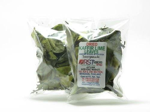 乾燥カフィア ライム リーフ[Dried Kaffir Lime Leaves]