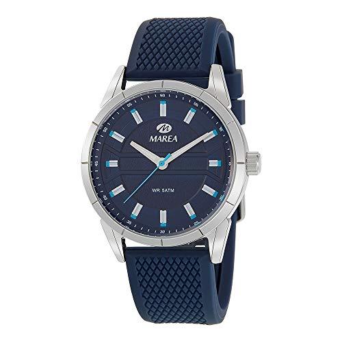 Reloj Marea Silicona Azul Hombre B54157/4