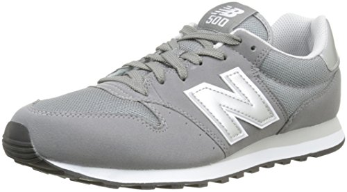 New Balance, Herren Sneaker, Grau (Grey/White Gry), 45.5 EU (11 UK)