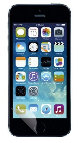 Aiino Pellicola Adesiva Protettiva Schermo Display Accessorio per Smartphone Cellulare Iphone 5/5S/5C - Ultra Clear, Trasparente