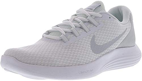 Nike Men's Lunarconverge Running Shoe, White/Pure Platinum/Wolf Grey, 10.5 D US