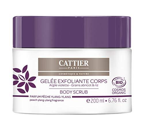 CATTIER Gelée Exfoliante Corps 200 ml Bio - Lot de 2