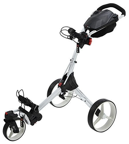 BIG MAX IQ 360 Golftrolley Cart (Weiss)