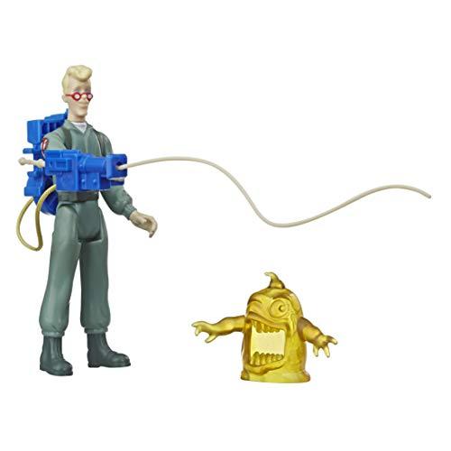 Ghostbusters Kenner Classics Egon Spengler und Gulper Ghost Retro Actionfigur Spielzeug mit Zubehör Tolles Geschenk für Sammler und Fans