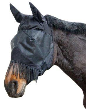 Masque anti-mouche pour cheval