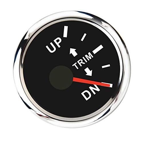 LJGFH Accesorios Marinos Barco de Ajuste de Ajuste EXTRETWARD Motor DE Motor DE TIPT Caliente DE TIPT Mensa Derecha DIAL Negro Durable