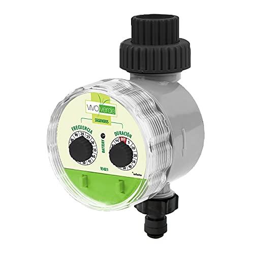Programador Analógico Nebulización Vivo Verde