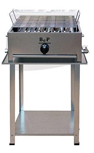 Barbecue Bep A Gas Acciaio Inox 100% Made In Italy Artigianale 1 FUOCO
