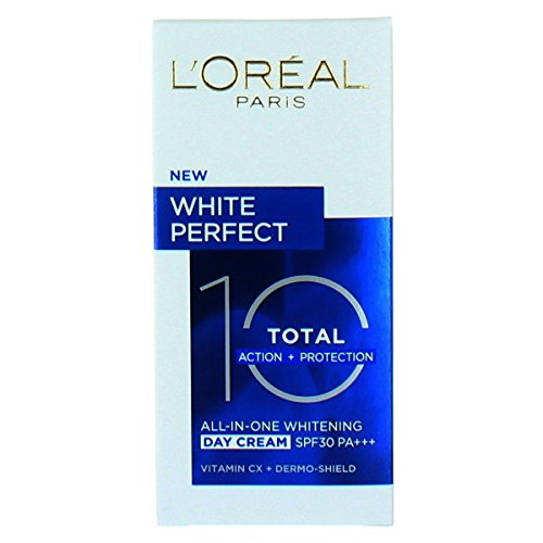 L'Oreal White Perfect Total 10 SPF30 - Crema blanqueante de día