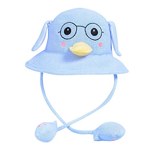 Girls Funny Animal Ear Hat Toy Birthday Gift with Moving Ears Pressing The Animal Cap Will Make The Ears Move Girls Boys Kids Cute Cosplay Blue