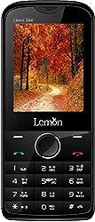 Lemon Dual Sim Mobile (LEMO 244 Black+Green)