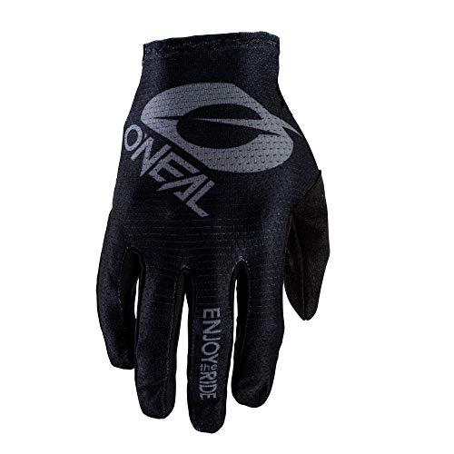O'NEAL | Fahrrad-& Motocross-Handschuhe | MX MTB DH FR Downhill Freeride | Langlebige, Flexible Materialien, belüftete Handoberseite | Matrix Glove | Erwachsene | Schwarz Grau | Größe L