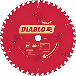 "in budget affordable Freud D1244X Diablo 12 ″ 44 Tooth Universal Miter Saw Blade ATB 1 ""Mandrel"