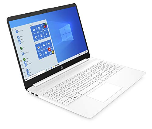HP 15s-eq0031na 15.6 Inch Full HD Laptop - (White) (AMD Ryzen 5 3450U, 8 GB RAM, 256 GB SSD, Windows 10 Home)