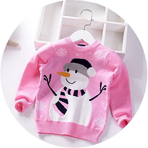 Herbst-Winter-Jungen-Mädchen-Weihnachten Pullover warme Baby-Pullover Stricken Kinderkleidung Karikatur-Schneemann Kinder Pullover...