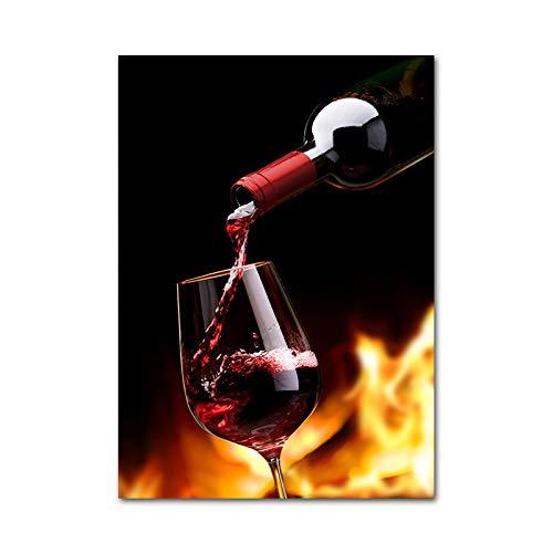 UHvEZ Rompecabezas de Madera 500pcs_Children Cocina con Copa de Vino Rompecabezas de Madera Personalizados, imágenes Completas, Juguetes de Bricolaje para decoración de Adultos 52x38cm