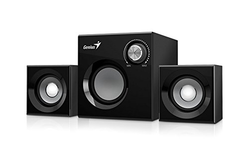 Genius SW-2.1 370 8W Nero speaker set - speaker sets 8 W, PC, Built-in, 2 W, 8 Ω, 7.62 cm3'