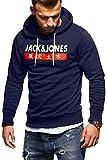 JACK & JONES Herren Hoodie Kapuzenpullover Sweatshirt Pullover Streetwear 4