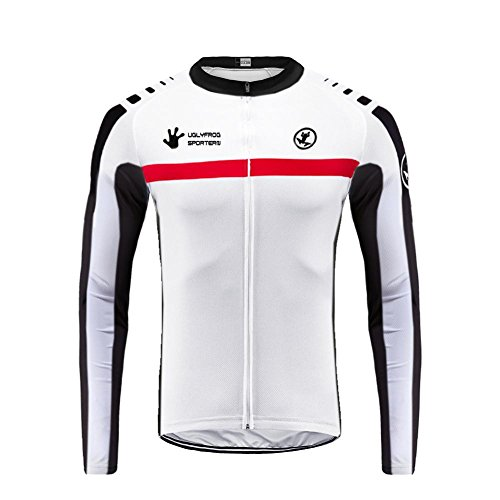 Uglyfrog 2019 Primavera Verano Hombres Ropa Ciclismo Maillot Mangas largas Camiseta de Ciclistas MES16