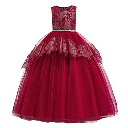 K-Youth Vestido de Novia Chica Medieval Encaje Tutú Vestidos de Princesa Niñas...