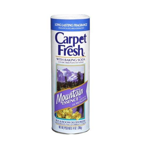 Carpet Fresh Rug and Room Deodorizer with Baking Soda, Mountain Essence Fragrance, 14 OZ