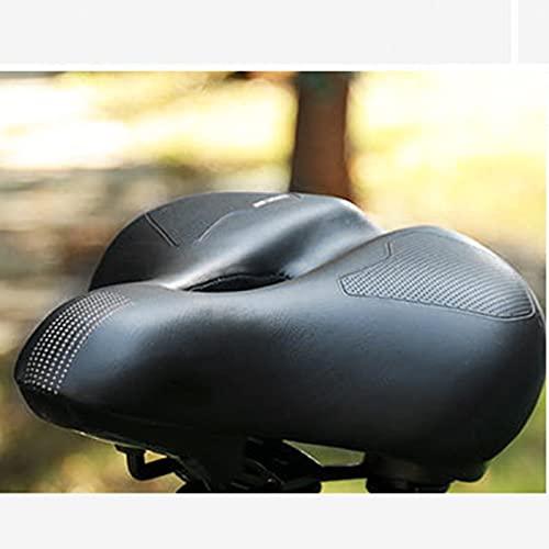 Fahrradsattel Gel Fahrrad Sattel Bequemer Hohl Ergonomisch Fahrradsitz Tourensattel Geeignet für Herren Damen MTB Rennrad Mountainbike Heimtrainer City Dirt E Bike
