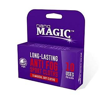 Nano Magic Anti Fog Sport 5 Pack Dry Cloth