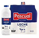 Pascual Leche Entera, Pack de 6 x 1200ml