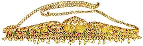 Temple Design Matte Finish Kamarband Wrist Belt For Women Girls