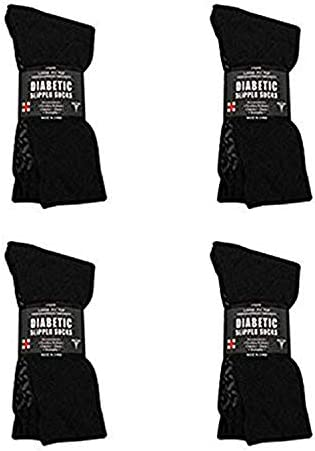 Diabetic Socks Unisex Non Skid Hospital Loose Fitting Slipper Socks with Gripper Bottoms 12 product image