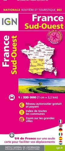 803 FRANCE SUD-OUEST RECTO;VERSO