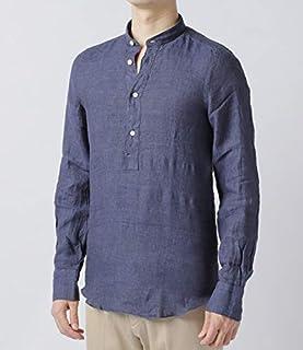 Finamore(フィナモレ) シャツ メンズ TOKIO ヘンリーネックシャツ CAMILLO-010608 [並行輸入品]