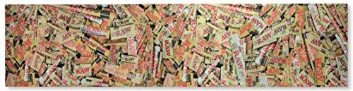 RAW Griptape für Skateboard-Griffband, naturfarben, Sortiert, 48 x 11 inches