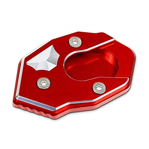 For Ka&wa&saki For VE&RSYS 300/X250/1000 For VE&RSYS 1000 Motorcycle Foot Side Stand Enlarger Plate Kickstand Enlarge Extension Motorcycle Kickstand Support Extension Plate (Color : D)