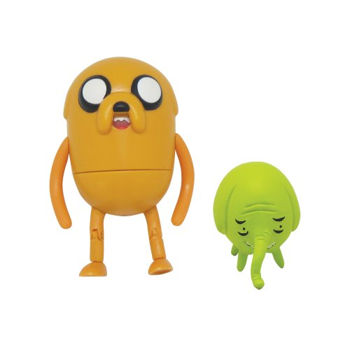 Adventure Time – Jake et La Trompe – Figurines 7,5 cm