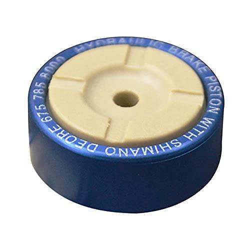freneci Resistenza al Calore di Riparazione del pistone della Pinza del Freno Idraulico in Metallo per Shimano M675 M8000 Premium Mountain MTB della - Blu