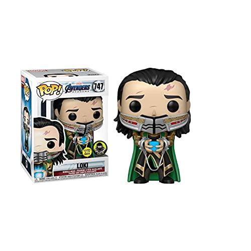 Pop Marvel Avengers Loki # 747 Figuras De Acción Luminosas Recolección De Juguetes Modelo como...