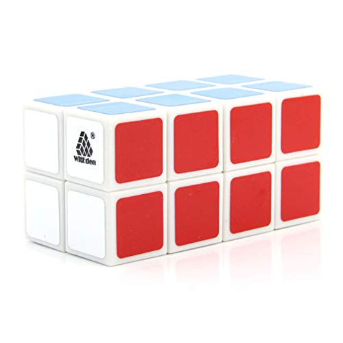 YODZ Magic Cube 2X2x4 Speed Cube, Stickerless 3D Puzzle Cube Party Toy with Vivid Color Surface, Easy Turning - Super & Durable, for Kids And Adults