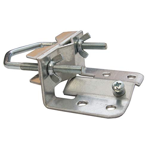 PremiumX Mastfuß 20-60 mm für Antennenmast Sat Mast Mastfußschelle Mastfuss mit Zahnschelle