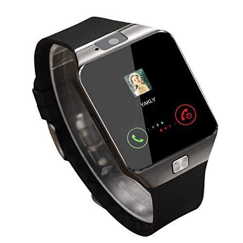 Ballylelly Smart Watch DZ09 Gold Silber Smartwatch Uhren für iOS für Android SIM Card Camera Watch