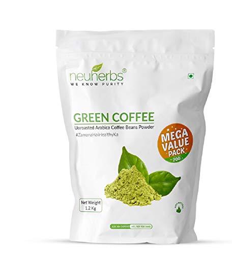 Neuherbs Green Coffee Beans powder For Weight Loss: 1.2 Kg