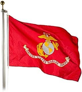 Marine Corps Flag 12X18 Inch SolarMax Nylon