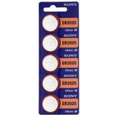 Bateria 2025 Sony cartela com 5 uns