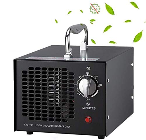 TYQIAO Máquina De Desinfección De Ozono,Industrial Máquina De Ozono,Purificador De Aire Doméstico Función De Eliminación De Olores Máquina, 3500 MG, 55W