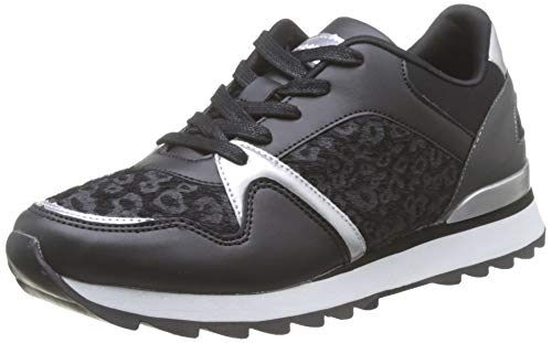 Mariamare 62461, Zapatillas para Mujer, Negro (NALI Negro/Plata C47613), 38 EU